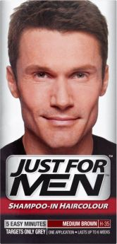 Just For Men Shampoo-In Hair Colour Medium Brown