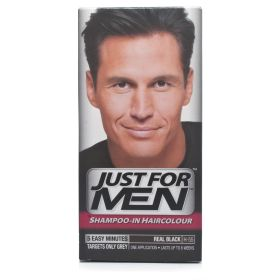 Just For Men Shampoo-In Hair Colour Real Black