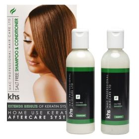KHS MAC Professional Hair Care Salt Free Shampoo & Conditioner
