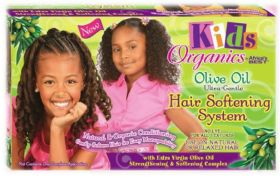 Kids Organics Olive Oil Ultra-Gentle Hair Softening System