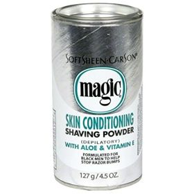 Magic Fragrant Shaving Powder Silver Aloe & Vitamin E 127g