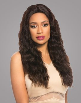 Bare & Natural Brazilian Swiss 4x4 Lace Wig Loose Wave