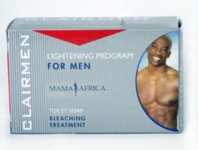 Mama Africa Clairmen Lightening Program Bleaching Treatment Soap 200g