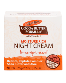 Palmers Moisture Rich Night Cream 75g
