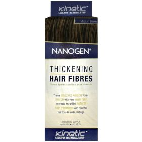 Nanogen Thickening Hair Fibres Medium Brown 15g