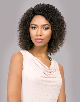 Sensationnel Bare & Natural Remi Brazilian Lace Wig Natural Jerry In Natural Colour
