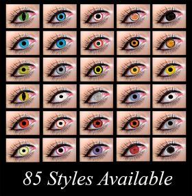 Mesmereyz Xtreme 1 Day Contact Lenses 85 Styles Available