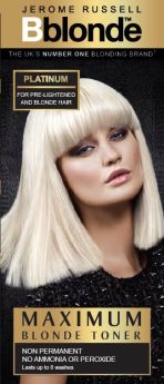 Jerome Russell BBlonde Colour Toner - Platinum Blonde