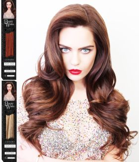 SALE Beauty Works Celebrity Choice Remi Human Hair Extensions Weft 120g