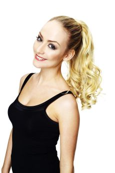 SALE All Colours Hair Couture By Sleek Scarlett 100% Tongable Synthetic Hair Luxury Velcro Ponytail