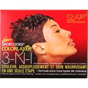 Lusters Shortlooks ColorLaxer 3-in-1 Passion Red