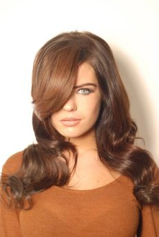 Beauty Works Human Hair Side Swoop Fringe