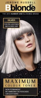 Jerome Russell  BBlonde Maximum Colour Toner Silver 75ml