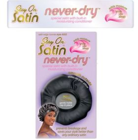 Stay On Satin Never-Dry Bonnet