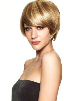 All Colours Hair Couture By Sleek Sunshine Synthetic Monofilament Wig